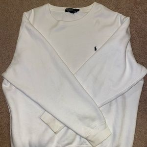 Large polo crew neck sweater by Ralph Lauren